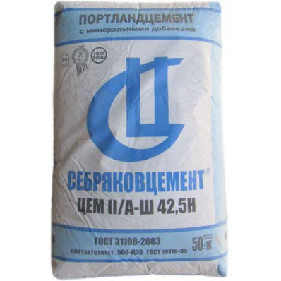 Цемент себряков